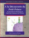 A La Decouverte du Petit Prince 9780844213880