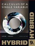 Single Variable Calculus, Hybrid, Larson, Ron and Edwards, Bruce H., 113310388X
