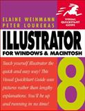 Illustrator 8 for Windows and Macintosh, Weinmann, Elaine and Lourekas, Peter, 0201353881