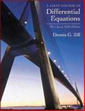 A First Course in Differential Equations, Zill, Dennis G., 0534373887