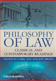 Philosophy of Law : Classic and Contemporary Readings, May, Hope, 1405183888