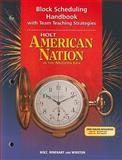 American Nation, Holt, Rinehart and Winston Staff, 0030653886