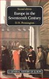 Europe in the Seventeenth Century, Pennington, D. H., 0582493889