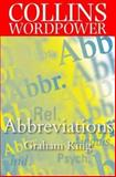 Collins Word Power - Abbreviations, Graham King, 0004723899
