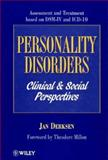 Personality Disorders : Clinical and Social Perspectives: Assessment and Treatment Based on DSM-IV and ICD-10, Derksen, Jan, 0471943894