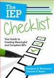 The IEP Checklist 1st Edition