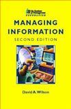 Managing Information, Wilson, Todd, 0750633891