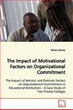 The Impact of Motivational Factors on Organizational Commitment, Berhan Ayenew, 3639173899