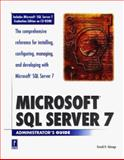 Microsoft SQL Server 7 Administrator's Guide, Talmage, Ron, 0761513892