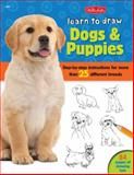 Learn to Draw Dogs and Puppies, Robbin Cuddy, 1600583903