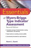 Myers-Briggs Type Indicator Assessment, Quenk, Naomi L., 0470343907