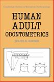 Human Adult Odontometrics 9780521353908