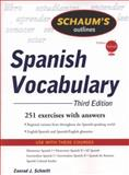 Spanish Vocabulary, Schmitt, Conrad J., 0071543910