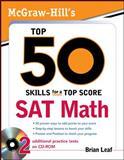 Top 50 Skills - Sat Math, Leaf, Brian, 0071613919