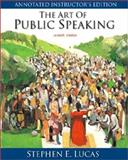 The Art of Public Speaking, PowerWeb and Topic Finder 9780072383911