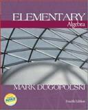 Elementary Algebra, Dugopolski, Mark, 007244391X