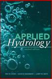 Applied Hydrology, Chow, Ven T. and Maidment, David R., 007174391X