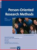 Person-Oriented Research, Alexander von Eye, Christiane Spiel, 0889373914