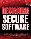 Designing Secure Software, Howard, Michael and LeBlanc, David, 0072263911