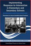 Implementing Response-to-Intervention in Elementary and Secondary Schools, Matthew Burns and Kimberly Gibbons, 0415963915