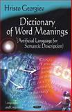 Dictionary of Word Meanings, Georgiev, Hristo, 1608763919