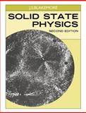 Solid State Physics, Blakemore, J. S., 0521313910