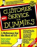 Customer Service for Dummies 9781568843919