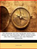 An Answer to the Inquiry into the State of the Nation, Joseph Lane, 1148713921