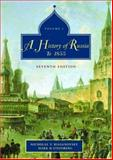A History of Russia : Volume 1: To 1855, Riasanovsky, Nicholas Valentine and Steinberg, Mark D., 0195153928