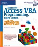Microsoft Access VBA Programming for the Absolute Beginner, Vine, Michael A., 1598633937