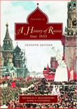 A History of Russia since 1855 Vol. 2, Riasanovsky, Nicholas V. and Steinberg, Mark, 0195153936