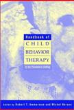 Handbook of Child Behavior Therapy in the Psychiatric Setting 9780471113935