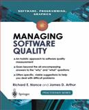 Managing Software Quality 9781852333935