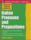 Italian Pronouns and Prepositions, Daniela Gobetti, 0071453938