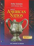 American Nation, Holt, Rinehart and Winston Staff, 0030653940