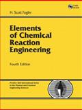 Elements of Chemical Reaction Engineering, Fogler, H. Scott, 0130473944