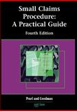 Small Claims Procedure, Patricia Pearl and Andrew Goodman, 1858113946