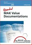 Essential MAK Value Documentations : From the MAK-Collection for Occupational Health and Safety, , 352731394X