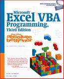 Microsoft® Excel® VBA Programming for the Absolute Beginner, Birnbaum, Duane and Vine, Michael, 1598633945