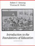 Introduction to the Foundations of Education 9780023543951