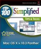 Mac OS X Panther, MaranGraphics Development Group and Mark L. Chambers, 0764543954