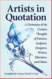 Artists in Quotation, Donna Ward La Cour, 0786473959