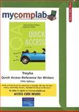 Quick Access Reference for Writers Access Code, Troyka, Lynn Quitman and Hesse, Douglas, 0136143954
