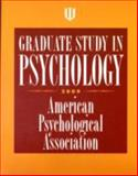 Graduate Study in Psychology, American Psychological Association Staff, 143380395X