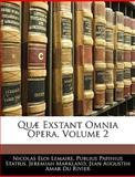 Quæ Exstant Omnia Opera, N. E. Lemaire and Publius Papinius Statius, 1143953959