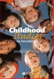 Childhood Studies 9780631233961