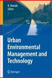 Urban Environmental Management and Technology, Hanaki, Keisuke, 4431783962