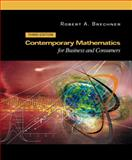 Contemporary Mathematics for Business and Consumers, Brechner, Robert A. and Bergeman, George W., 0030353963