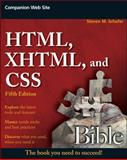 HTML, XHTML, and CSS Bible, Steven M. Schafer, 0470523964