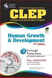 CLEP Human Growth and Development, Heindel, Patricia and Research and Education Association Staff, 0738603961